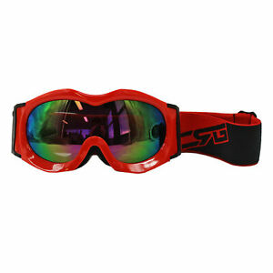Kids-RED-Motocross-Scooter-Dirt-Bike-Quad-ATV-SKI-Racing-Ski-Snow-Goggles