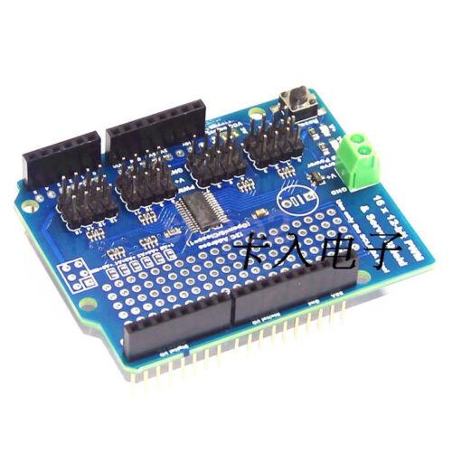 New 16 Channel 12-bit PWM Servo Shield 16 CH Servo Driver Board IIC For Arduino