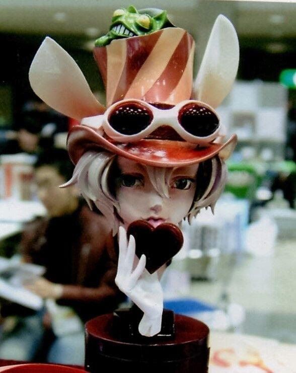 ANIME MODEL RESIN KIT - HIROHIKO ARAKI JOJO - CHOCOLATE FACTORY MANAGER BUST 1 3