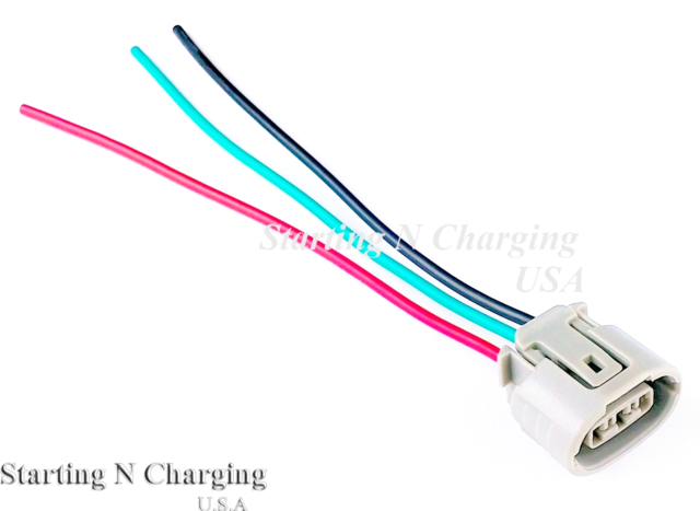 [DIAGRAM_34OR]  Fits Toyota Scion 4-wire DENSO Alternator Repair Plug Harness Pigtail  Connector for sale online | eBay | Denso Alternator Wiring Harness |  | eBay