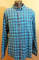 Mens Aeropostale Long Sleeve Shirt - Blue - Size Xl -