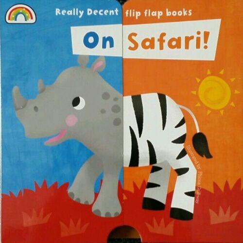1 of 1 - Flip Flap - On Safari by Philip Dauncey (Board book, 2014)