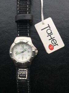 Analog Nos New Watch Reloj De Taher Detalles Sport Vintage On0wkP