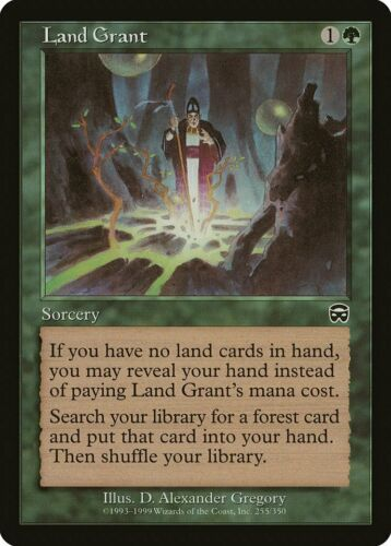 Land Grant Mercadian Masques NM-M Green Common MAGIC THE GATHERING CARD ABUGames