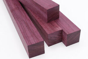 Image Is Loading Exotic Wood Blank Purpleheart 2 034