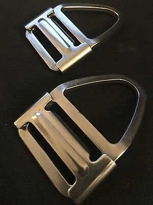 Belt Buckles  Heavy Duty with Slide Bar.  FREE SHIPPING! V Ring D Ring Harness