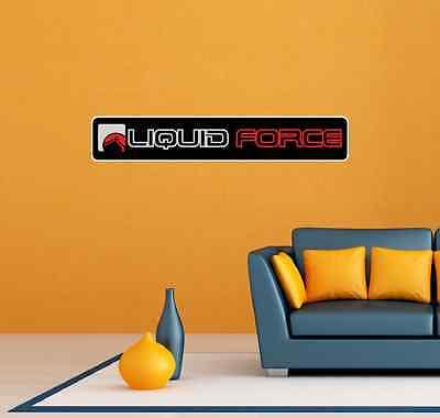 2 Liquid Force Kiteboarding Kite Red Room Wall Garage Decor Sticker Decal 25 X5 619537866166 Ebay