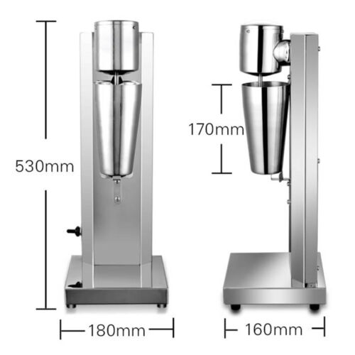Milkshake Mixer Maker Milk Shake Machine Stand Smoothie Malt Mixers Kitchen New