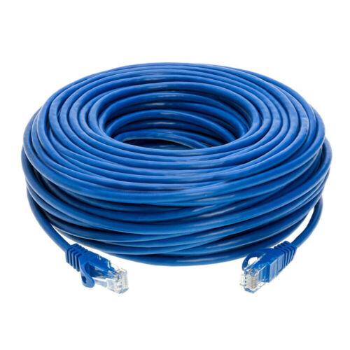 Ethernet Cable CAT5 CAT7 3 6 20 50 100 FT RJ45 LAN Network lot CAT5e CAT6