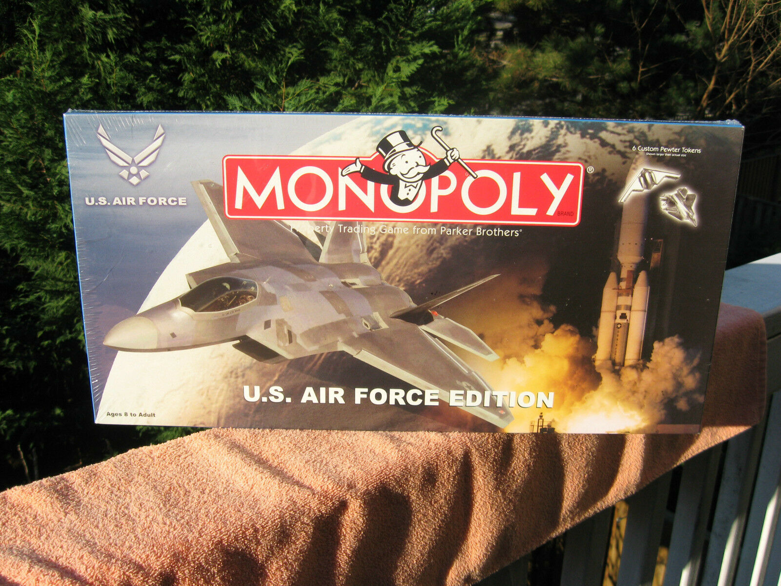 Monopoly U.S. Air Force Edition Parker Brougehers  NEW & FACTORY SEALED