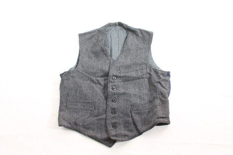 Old Vest for Suit SACKO Jacket True Vintage Business-show original title