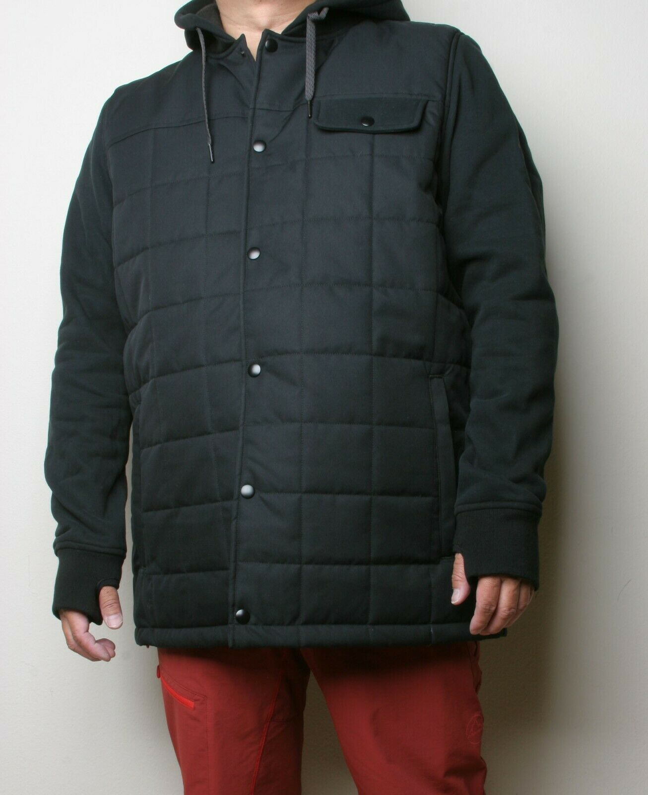 686 Bedwin Insulated Jacket (L) Black M0WLAY07-BLK