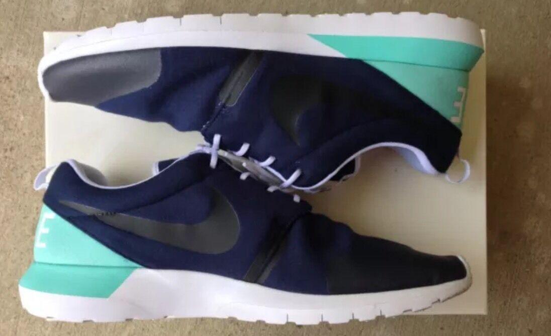 Nike roshe lauf nm sp tech tech sp vlies pack, dunkel blau / aqua, größe. 393e4c