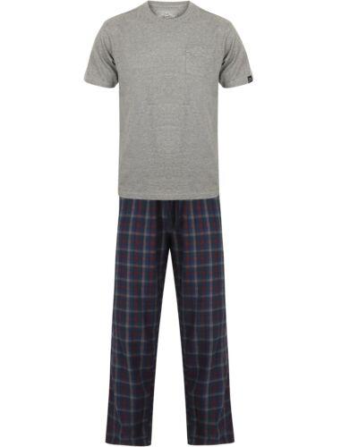 Tokyo Laundry Men/'s Check Short Sleeve Lounge Gift Set Pyjamas PJ/'s Nightwear