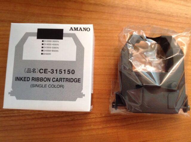 Farbband für Stempeluhr AMANO, Zeitstempler  EX3000-3000N..EX6000-6000N