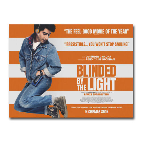 Blinded by the Light Movie Art Silk Poster Wall Art Print 24x32 inch Home Decor.