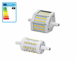 Details Zu 5w 7w 78mm R7s Led Smd Leuchtmittel Stab Fluter Brenner Deckenfluter Strahler