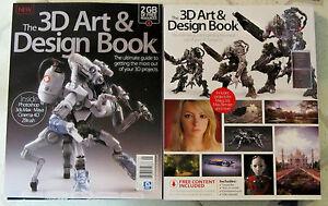 3d art & design book 258 pages + dvd # 1 ultimate guide characters.