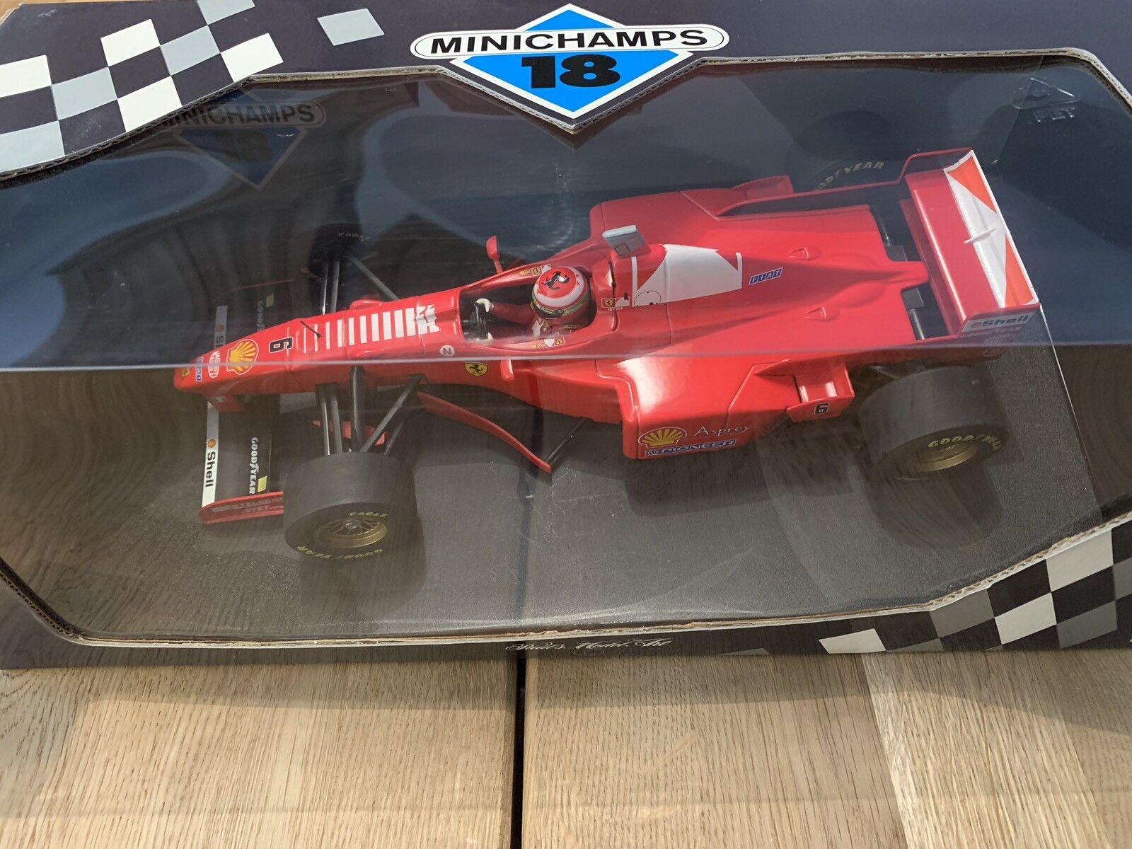 1 18 Scale Diecast - 180 970006 Ferrari F 310B Eddie Irvine 2nd GP Argentina F1