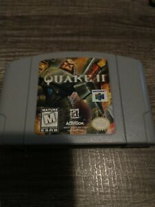 Quake II Nintendo 64 N64 Game Authentic Cartridge Only Tested Working