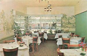 Chrome-Postcard-GA-J375-New-Perry-Hotel-Motel-Interior-Coffee-Shop-Perry-Georgia