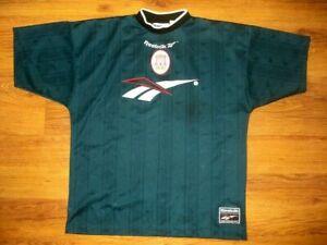 Vintage 90's Reebok LIVERPOOL 1996-1997 Training Shirt Jersey Maglia SIZE: L