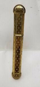 Antique-Fine-French-Hallmarked-18kt-Gold-Etui-Needle-Case-Engraved