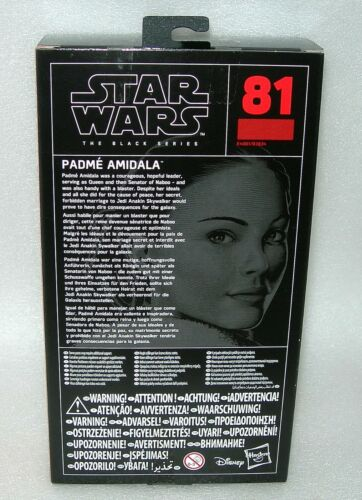 "Asst NIP Star Wars The Black Series Collectable 6/"" Figures"
