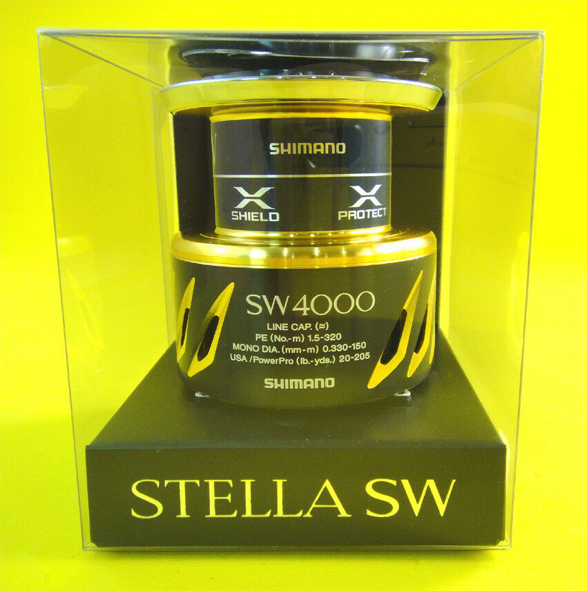 NEW GENUINE SHIMANO STELLA SW 4000XG SPOOL U.S SELLER 1-3 DAYS DELIVERY
