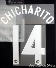 Manchester United Chicharito 12/13 Uefa Champions League Football Shirt Name Set