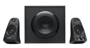 LOGITECH Z623 PC Lautsprecher 2.1 System Subwoofer 200 W RMS schwarz gebraucht
