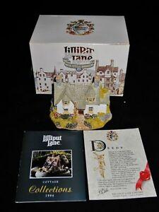 Lilliput-Lane-KIRKBRAE-COTTAGE-Scotland-Collection-w-Box-amp-Deed
