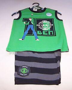 c110cea2 Ben 10 Alien Boys Green Black Printed 100% Cotton Pyjama Set Size ...