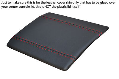 RED STITCH GEAR SURROUND LEATHER SKIN COVER FITS NISSAN 350Z 2002-2009