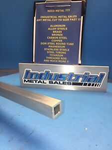"3//4/"" x 72/""-long x 1//8/"" Wall 6063 T52 Aluminum Square Tube--/>.750/"" x .125/"" wall"