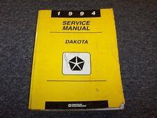 1994 Dodge Dakota Truck Shop Service Repair Manual WS SLT 2.5L 3.9L 5.2L V6 V8