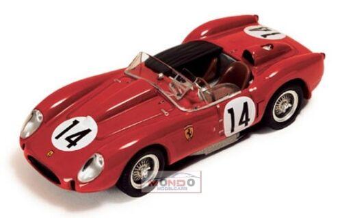 Ferrari 250 Tr Testarossa 3.0L V12 #14 Winner 24H Le Mans 1958 IXO 1:43 LM1958 M