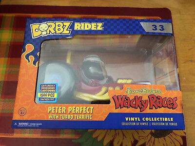 SDCC 2017 Funko Pop Dorbz Ridez Wacky Races Rufus Ruffcut #35 1500 LE Pc