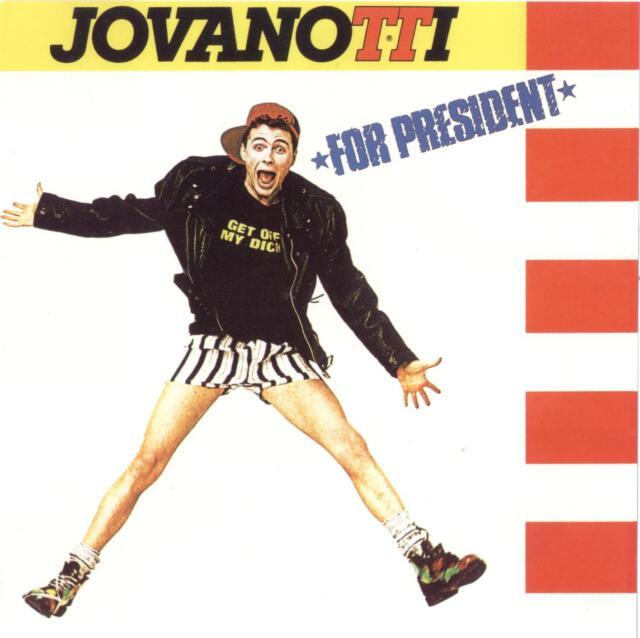 JOVANOTTI - FOR PRESIDENT - CD NUOVO SIGILLATO
