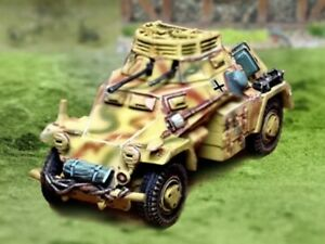 The-Collectors-Showcase-28mm-CBG054-VEHICULE-BLINDE-ALLEMAND-SdKfz-222-WW2