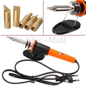220v 30w carving pyrography electric soldering iron wood burning pen 5 points ebay. Black Bedroom Furniture Sets. Home Design Ideas