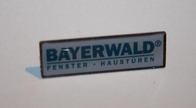 Aktiv Bayerwald Fenster - Haustüren Pin / Anstecker SchöNe Lustre