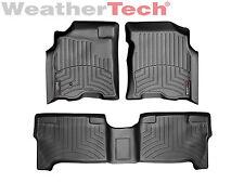 WeatherTech Floor Mats FloorLiner - Toyota Tundra Double Cab- 2004-2006 - Black