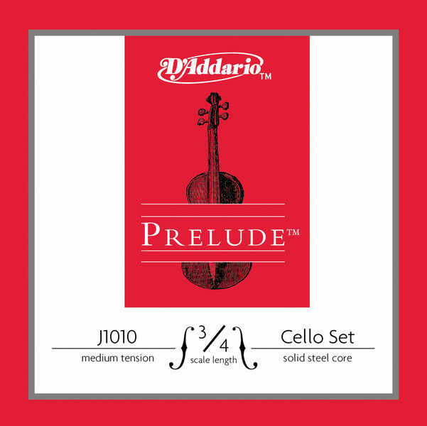 DAddario Prelude Cello 3/4 Medium - Satz