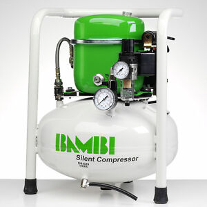 Whisper Silent Compressor Pro 80l Oil Free Low Noise 69db Air Compressor Clinic Complete In Specifications Automotive Tools & Supplies