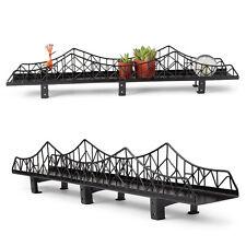 Design Ideas Iron Bridge Shelf Black Books Pictures Candles Designer Gift