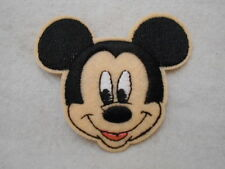 MICKEY MOUSE  NEW EMBROIDERED  SEW/ IRON ON NAME PATCH TAG