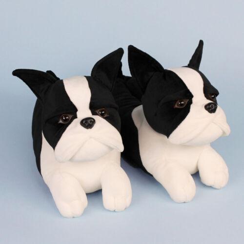 Boston Terrier Slippers Dog Slippers for Men /& Women