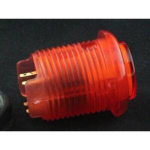 Bouton-arcade-lumineux-24mm-a-visser-Couleur-Rouge