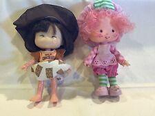 2 Strawberry Shortcake Dolls-Raspberry Tart & Milk Chocolate 1979